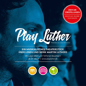 Play Luther Flyer